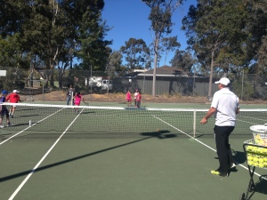 Tennis Coaching Page