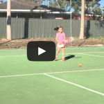 Tennis Australia Hot Shots levels on Video