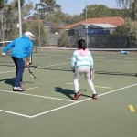 Tennis box game – for young tennis players
